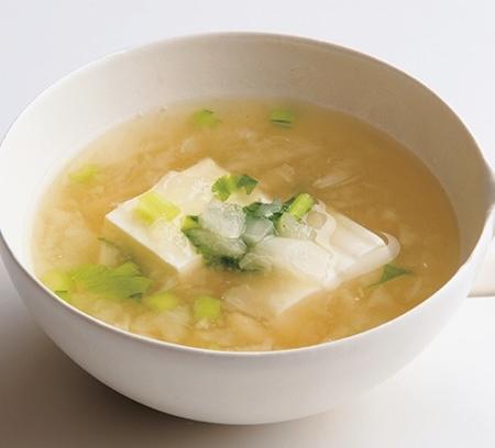 白身魚と豆腐、かぶは高タンパクで免疫力が高まります。