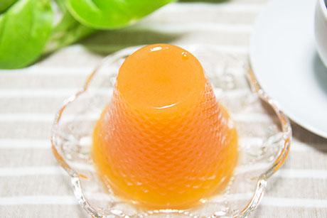 みかんの缶詰で簡単にできる手作りゼリーは幼児にも人気です。