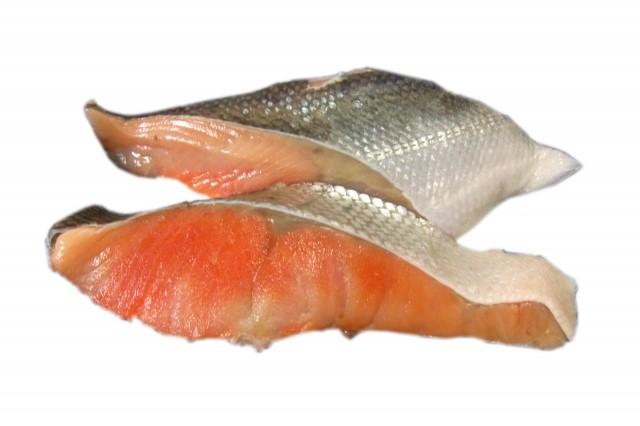 コラーゲンが豊富な食べ物の鮭です