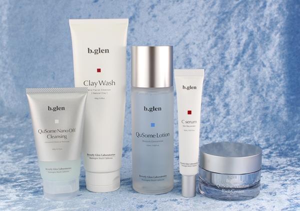 ビーグレンのスキンケア製品のクレンジング、洗顔クリーム、化粧水、美容液、美容クリーム