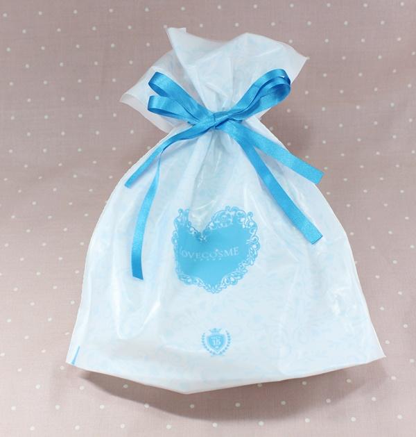 ジャムウ・ハーバルソープはかわいい袋に包装されて届きます