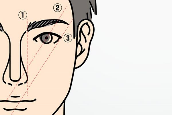 大人のメンズにふさわしい眉毛の整え方