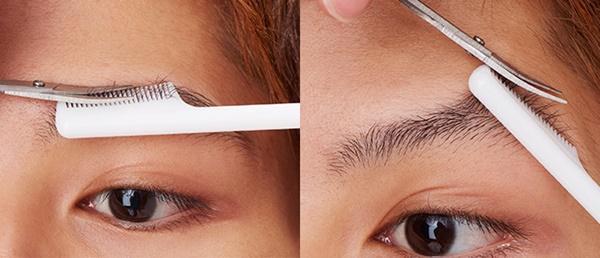 男性の眉毛の整え方の手順2