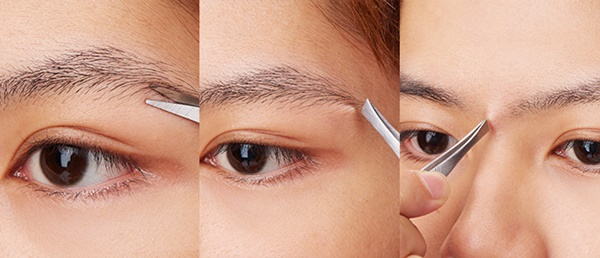 男性の眉毛の整え方の手順4